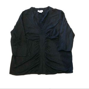Calvin Klein Front Ruched Sweater